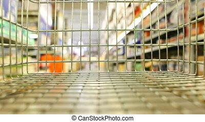 Shopping wagon chart