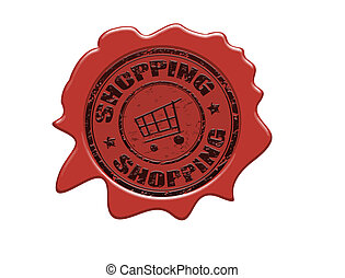 Shopping wax seal