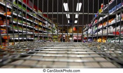 Shopping with Cart Time Lapse