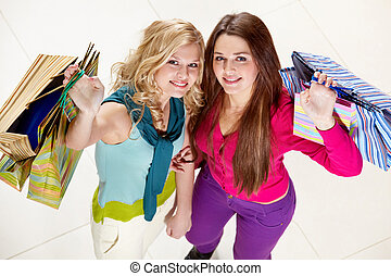 Shopping with friend