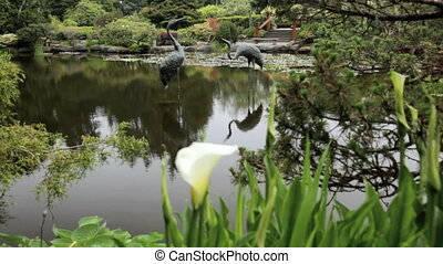 Shore Acres State Park - Ornamental Pond in Shore Acres...