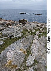 Shore at Green Cove, Cape Breton Highlands Nat Park, Nova Scotia, Canada