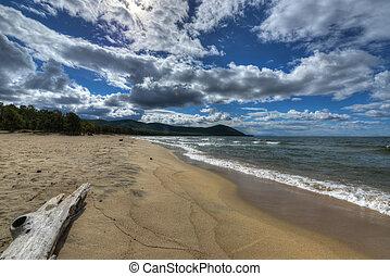 Shore of Lake Baikal