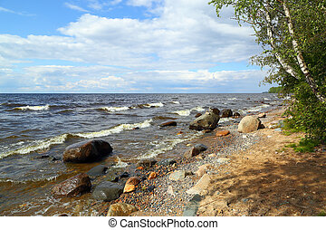 Shore of Lake Onega