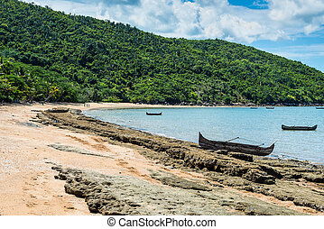 Shore of Nosy Be island in Madagascar, Africa