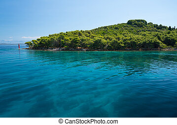shore of the Dugi Otok island near Brbinj, Dalmatia, Croatia