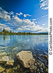 Shore of Yukon River