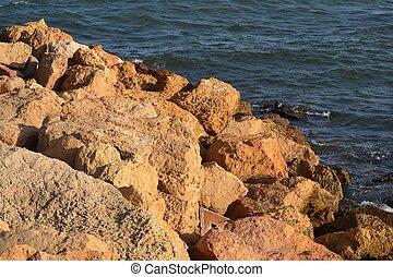 Shore - rocks