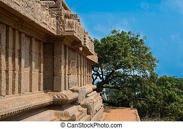 shore temple at Mamallapuram,Tamil Nadu, India