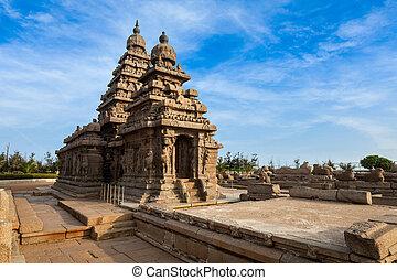 Shore temple - World heritage site in Mahabalipuram, Tamil ...