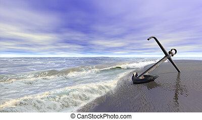 shoreline, ancorare