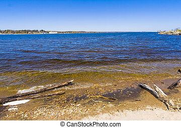 Shoreline of Great Lakes in Ontario