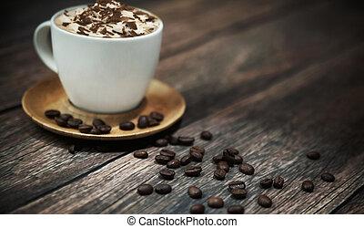 Short break in coffee shop - Short break in oldstyle coffee...
