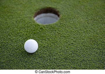 Short Golf Putt