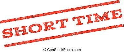 Short Time Watermark Stamp - Short Time watermark stamp....
