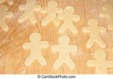 shortbread, biscoitos