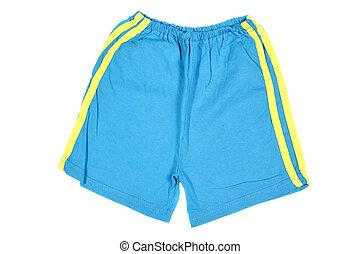 shorts azuis