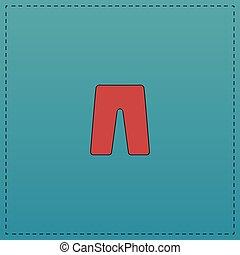 shorts computer symbol