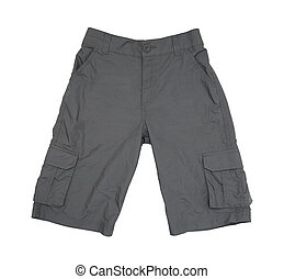 Shorts isolated on the white background