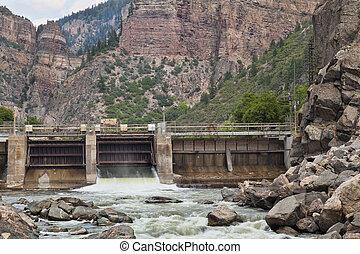 Shoshonee Dam on Colorado RIver
