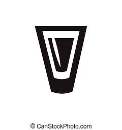 Shot drink icon