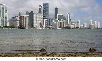 Shot five Miami - Miami Florida skyline shot five