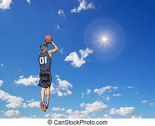 shot in the sun