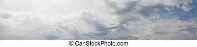 Shot of a beautiful cloudy sky