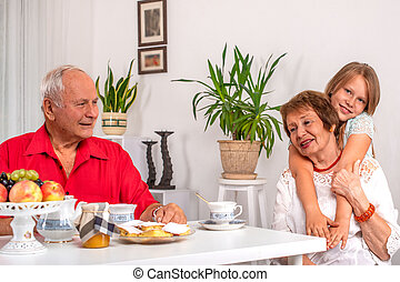 Shot of a senior couple spending time together at home.
