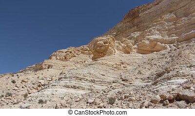 Shot of desert cliff