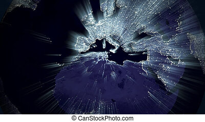 earth light rays