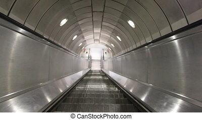 Endless escalator - Shot of Endless escalator