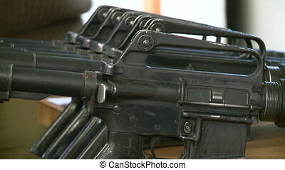 Guns array - Shot of Guns array