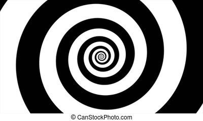 hypnotic spiral loop