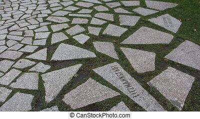Memorial to the Sinti - Shot of Memorial to the Sinti