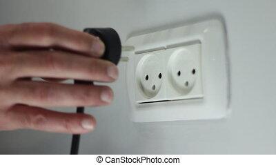 plug in - Shot of plug in