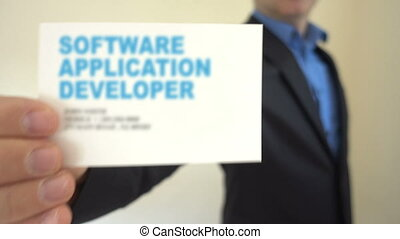 Software Application Developer - Shot of Software...