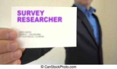 Survey researcher for hire - Shot of Survey researcher for...