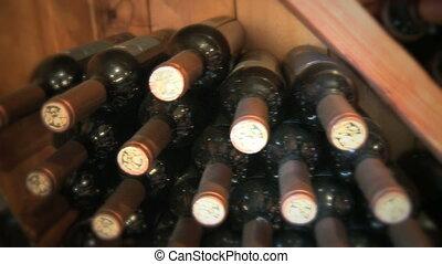 wine seller - Shot of wine seller