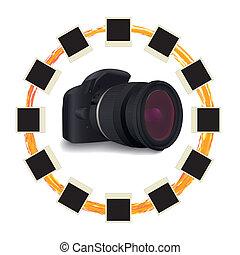 shots around digital camera