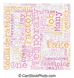 Should You Apply for Temporary Jobs 1 text background wordcloud concept