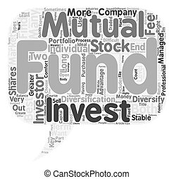Should You Invest In Mutual Funds Or Stocks text background wordcloud concept