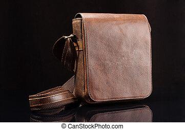 Shoulder bag with adjustable strap - Male messenger shoulder...