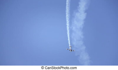 Show Plane at an Air Show HD