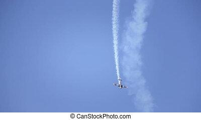 Show Plane at an Air Show HD