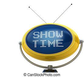 Show time concept