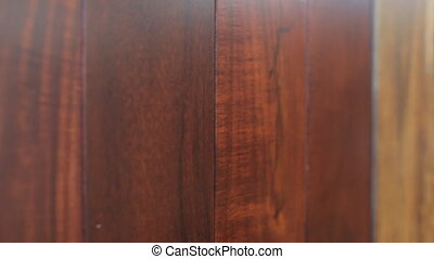 Showcase examples of laminate in different colors