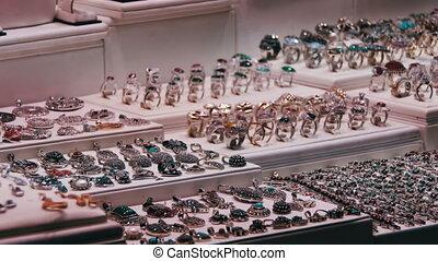 Showcase Store Jeweler Ornaments.