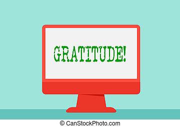 showcasing, acknowledge., ビジネス, 感謝している, ある, 写真, 提示, 執筆, メモ, 感謝, 感謝, 品質, gratitude.