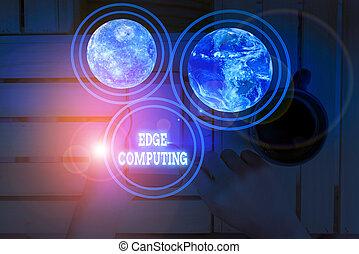 showcasing, kéz, bútorozott, adatok, -e, feldolgozás, fénykép, él, fogalmi, computing., hálózat, írás, kiállítás, nasa., alapismeretek, ügy, szokás, kép, ez